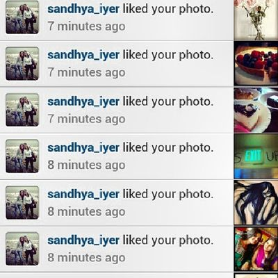 ThankU @sandhya_iyer. Culdnt capture all the 16 likes... This ought to do... ;)