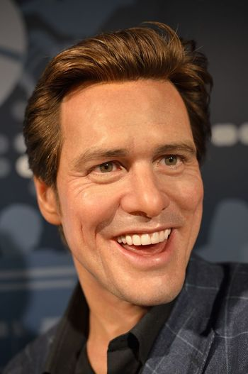Jim Carrey Close-up Confidence  Contemplation Front View Happiness Head And Shoulders Headshot Human Face Lifestyles Looking At Camera Madame Tussauds Person Portrait Real People Serious Smiling Wax Dolls Wax Museum Young Adult Young Women