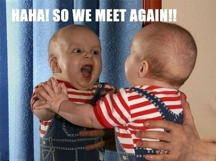 So We Meet Again Babies Funny Cute