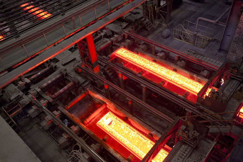 Interior Of Steel Industry