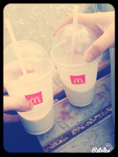Kuzenle soğukta milkshake Pendik Sahili First Eyeem Photo