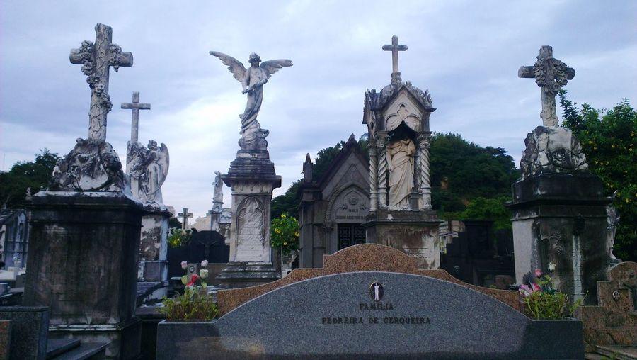 Graveyard in Rio de Janeiro Architecture Statue Outdoors Travel Destinations Rio De Janeiro Rio De Janeiro Eyeem Fotos Collection⛵ Rio Brazil