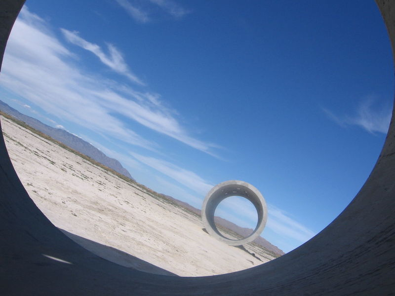 Art ArtWork Cement Tunnels Creative Light And Shadow Desert Design Do What You Love Do What You Love And Love What You Do❤ For Freedom Functional Art Installation Interesting Landscape Lines And Shapes Old Camera Photos Old Photos Solstice Sun Sun Tunnels Taken By M. Leith White Sands