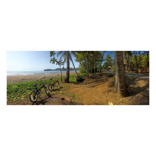 Just the two of us Batu Karas Jawa Barat INDONESIA Pantai West Java  Adventure Sepeda Lipat Liburan Lokal Legok Pari Road Trip