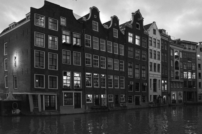 Amsterdam Amsterdam Canal Archineos Architecture B&n B&w Bianco E Nero Black And White Blanco Y Negro Building Exterior Canal City Holland Monochrome Outdoors Ugo Villani Urban