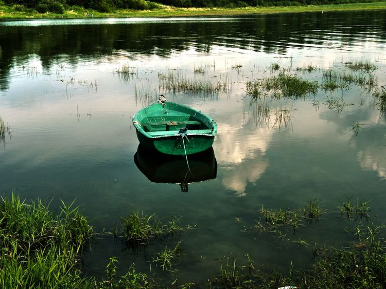 Boat Exceptional Photographs Eye4photography  EyeEm Gallery EyeEm Nature Lover From My Point Of View From Where I Stand Getting Inspired Jezioro żywieckie Lake Lake View Lakeshore Outdoors Poland Tranquil Scene Water