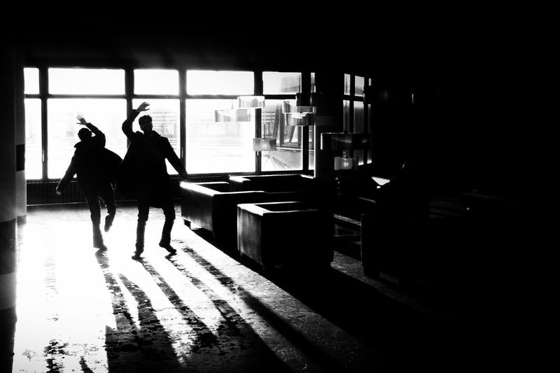 high five | Dancing Into The Light Light And Shadow