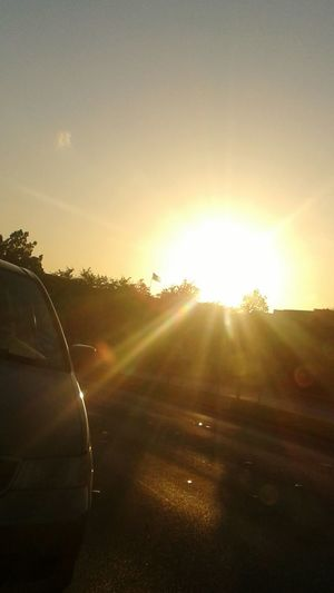Sunset! :-) but oh, it's already 8:30 in the evening.. Texas Summer Ontheroad GoodmorningPH GoodnightTX