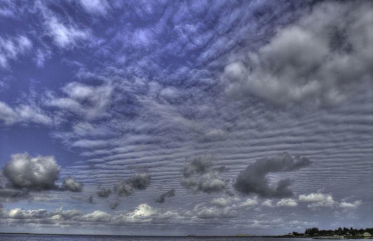 Blue Cloudscape Cloudy Day Majestic Nature No People Sea Sky