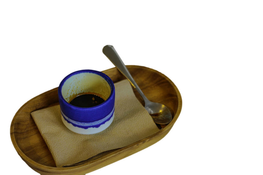 Coffee tray isolated white background and clipping path Coffee Isolated Tray Cabinet Clipping Path Close-up Coffee Maker Coffee Making Drink Food And Drink No People Studio Shot Style White White Background