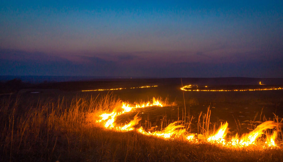 Let it burn not great but ok Beauty In Nature Flame Heat - Temperature Let It Burn Fire Night Outdoors Range Fire Sunset