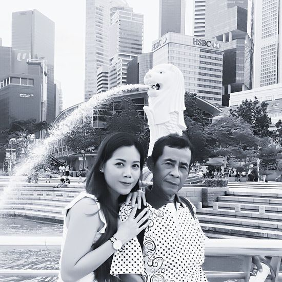 My Father 😍 City Skyscraper Young Adult Two People Togetherness Waist Up Happiness Building Exterior Women Young Women City Life Outdoors Portrait Architecture Smiling Bonding Adult Downtown District People Father Fatherhood Moments Singapore Family EyeEm Gallery EyeEm