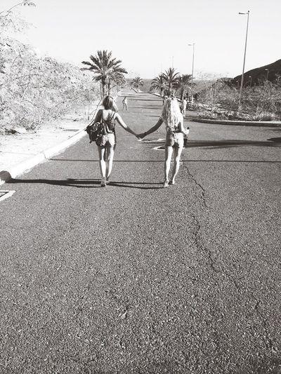 Bestfriend Love Palm Trees Ocean