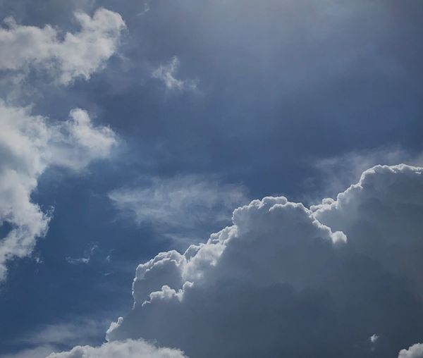 Cloud - Sky Sky Beauty In Nature Low Angle View Scenics - Nature Nature No People Tranquility Day