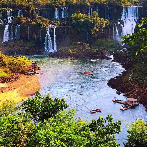 The Great Outdoors - 2017 EyeEm Awards Waterfall Scenics Outdoors Travel Destinations Iguazu Falls Brazil Natural Beauty Landscape EyeEm Nature Lover EyeEm Gallery Cataratasdoiguaçu Cataratas Do Iguaçu-Brasil