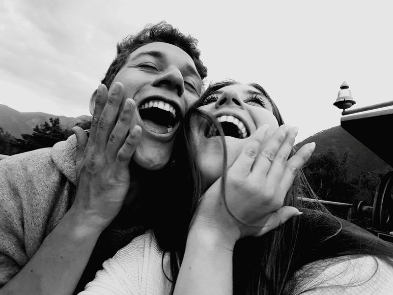 TwoIsBetterThanOne Romance Couple Purelove Fun Moments People Laughing Quality Time Close-up Portrait Two Is Better Than One