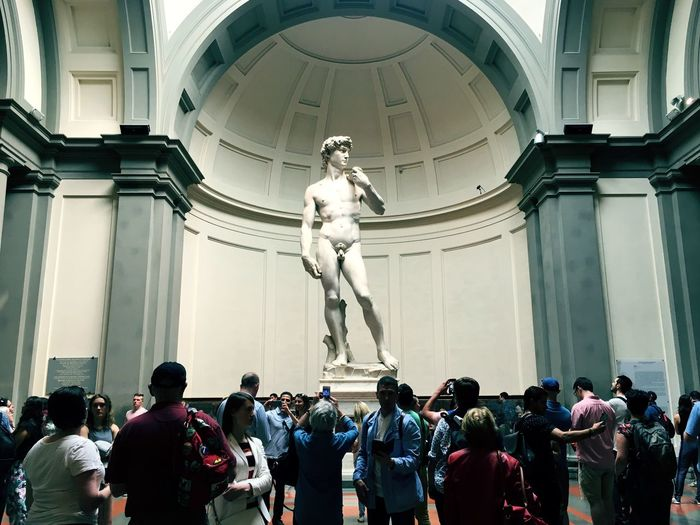 Art Gallery Of Art Gallery People Watching People David Michelangelo Art Italy Florence Group Of People Architecture Built Structure Real People Large Group Of People Crowd Building Exterior Statue Human Representation Sculpture Representation Art And Craft Men Creativity Adult Architectural Column The Traveler - 2018 EyeEm Awards