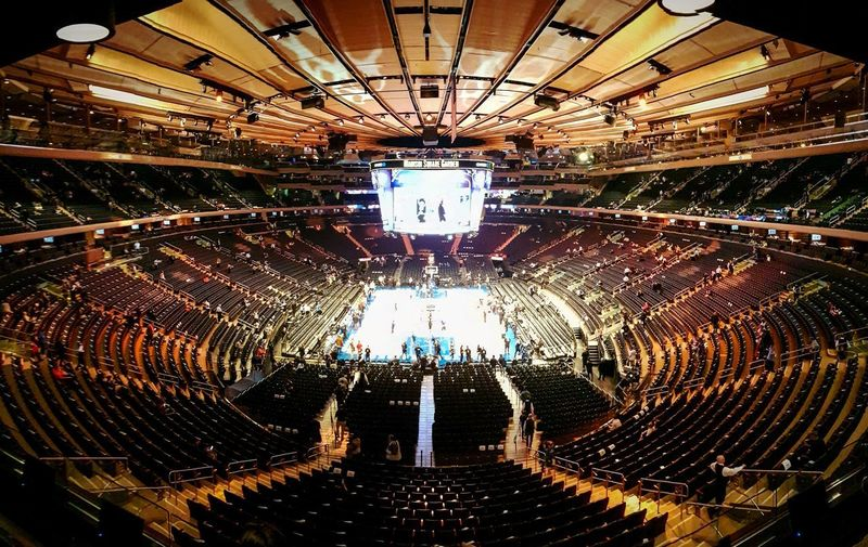 Madison Square Garden Exceptional Photographs View Madison Square Garden New York Sports Event  NBA New York Knicks EyeEm Best Shots Travel Urban Stadium View View Illuminated Backgrounds Close-up Architectural Design LINE Hanging Light Round Architectural Feature Light Concentric Ceiling Architecture And Art Recessed Light Architectural Detail Interior The Architect - 2019 EyeEm Awards The Mobile Photographer - 2019 EyeEm Awards