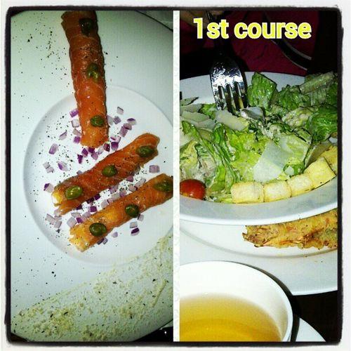 Anniversary dinner...