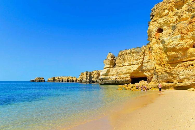 Algarve Portugal Albufeira Albufereta Beach Beachphotography Sea EyeEm Best Shots - Nature Summer Sun Plage
