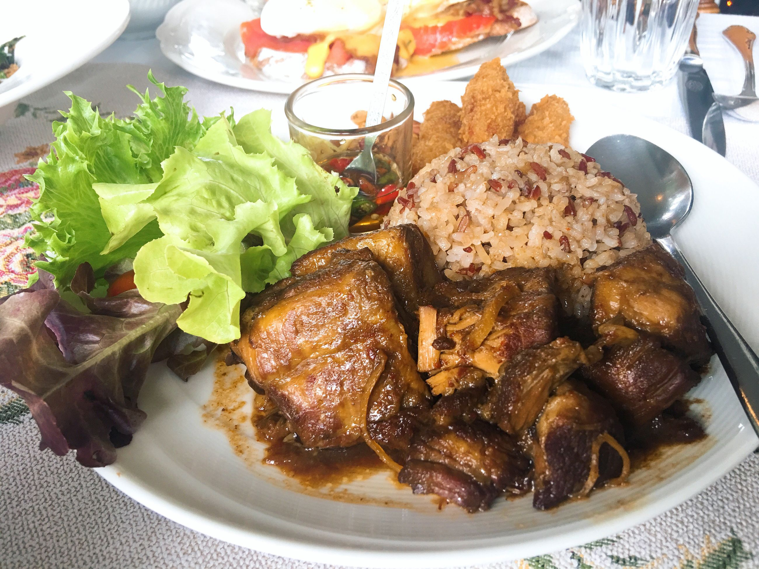 freshness, food, food and drink, plate, ready-to-eat, serving size, meat, indoors, no people, close-up, lamb - meat, day