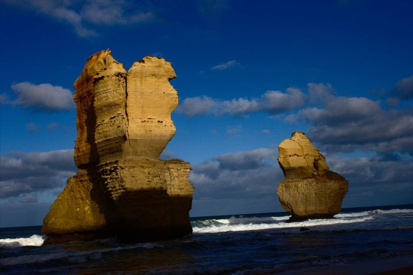 12 Apostles Australia Great Ocean Road Twelve Apostles Beauty In Nature Cloud - Sky Day Erosion Nature No People Outdoors Rock - Object Rock Formation Scenics Sea Sky Tranquility Water