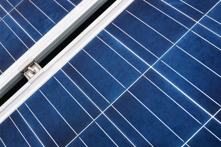 Alternative Energy Aluminium Blue Close Up Technology Close-up Electricity  Energy Environmental Conservation Environmental Issues Fuel And Power Generation Glass Grid Lines No People Power Supply Renewable Energy Solar Energy Solar Equipment Solar Panel Solar Power Station Sun