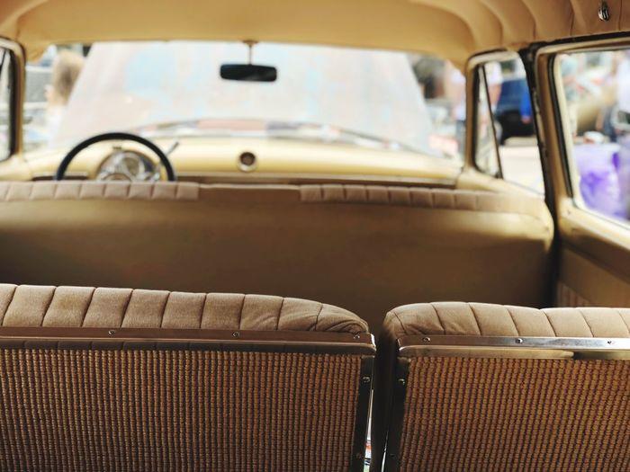 The Week on EyeEm Backseat Mode Of Transportation Seat Transportation Land Vehicle Car Vehicle Interior Motor Vehicle Vehicle Seat Travel No People Car Interior Retro Styled
