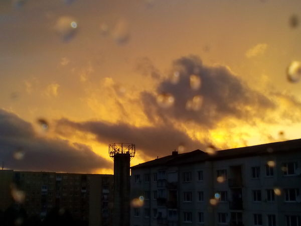 BARDEJOV Slovensko Sunset