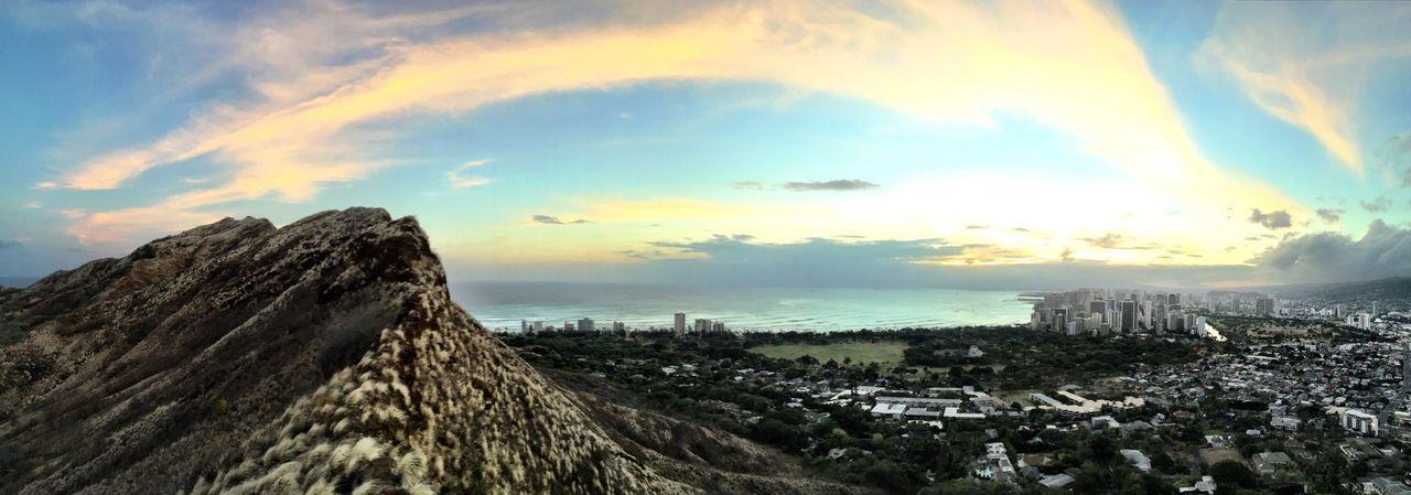 Thisiswhereihike Thisismyplayground Diamondhead Crater Sunset Honolulu, Hawaii Oahu Luckywelivehawaii The Adventure Handbook Thisiswhereilivenow
