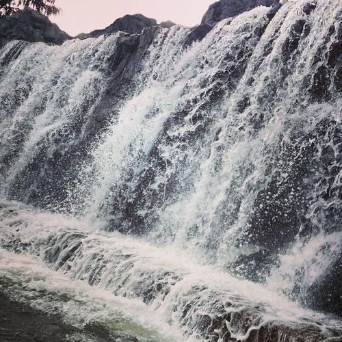 Polen Polska First Eyeem Photo Wasser Woda Wodospad Wasserfall karkonowski park narodowy❤