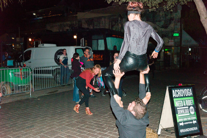Adults Only Agility City Life Flexibility Nightlife Performing Arts Event SXSW Vitality