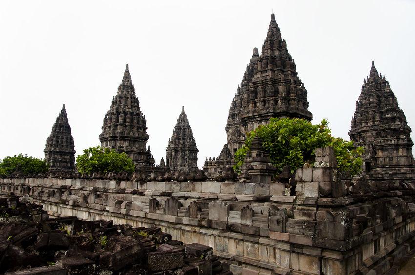 Prombanan Temple - Yogjakarta - Indonesia INDONESIA Prombanan Ancient Civilization Architecture Built Structure Prambanan Yogjakarta
