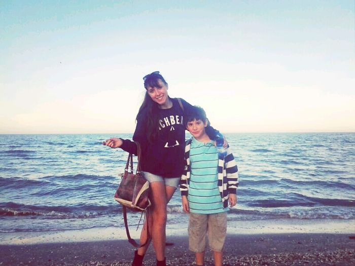 Finalmente un po'di mare!! Sea Side Holiday Brother Cervia Italy