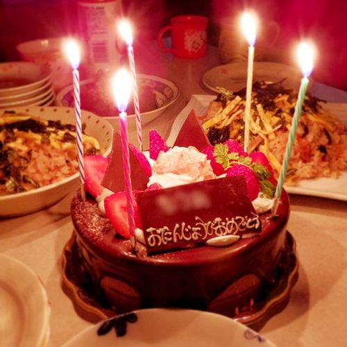 Birthday Nephew  7th 誕生日 ちょこ 甥っ子 パーティー ホールケーキ 7歳 11月6日