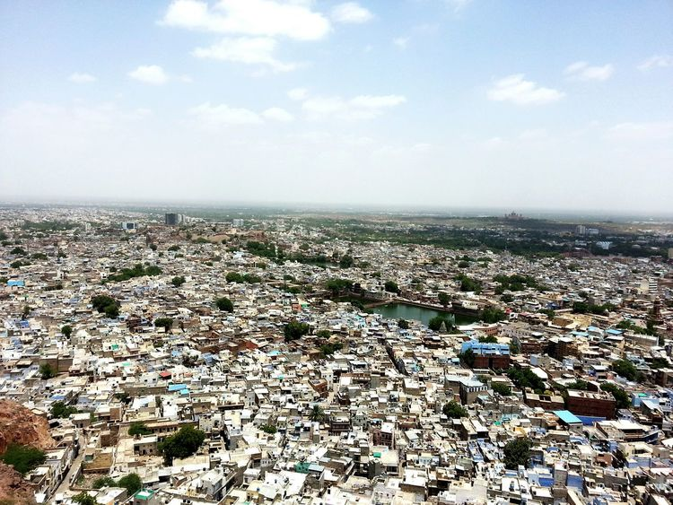 Urban Skyline Landscape Cityscape Day Outdoors HillTopView Rajasthan India Incredibleindia Houses Dronephotography Top View Urban Habitat Poppulation Growth Rural Landscape RuralIndia Aerial View Cloud - Sky No People Hello World Worldconnection Densely Populated Population Explosion Urbancity Townplanning