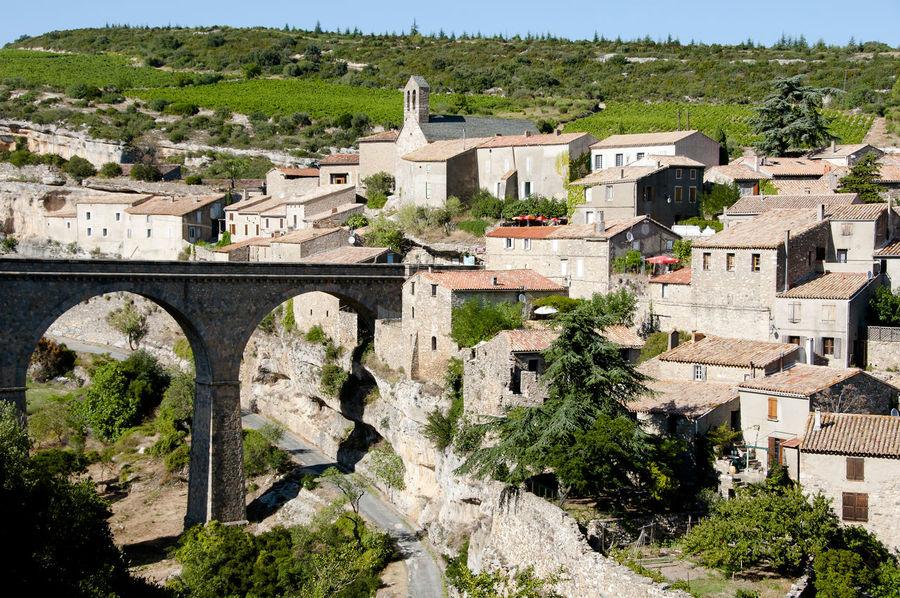 Minerve Village - France France Minerve Medieval Town Village