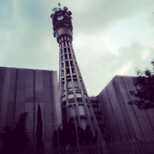 Torre TelefonosDeMéxico Barrio RunningBike Arquitecture Geometric Shapes Streetphotography LaToméDeRápido 🙈🚲📷