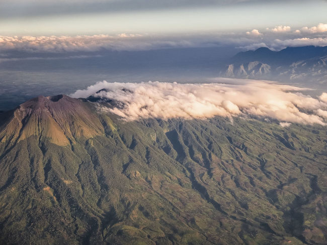 Aerial Shot of Mt. Kanlaon Aerial View Beauty In Nature Cloud - Sky Landscape Mountain Nature Outdoors Scenics Sky Tranquil Scene Tranquility