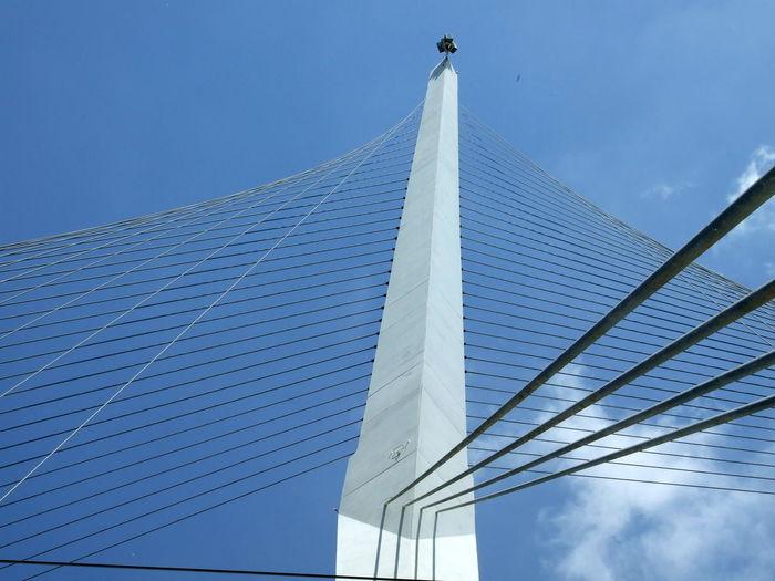 Architecture Built Structure Modern Bridge Tramway Bridge City Sky EyeEmNewHere