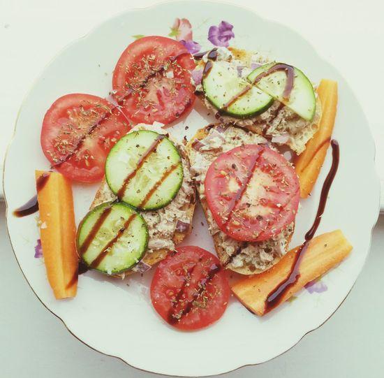 Lunch Healthy Food Tuna Salad Clean Eating
