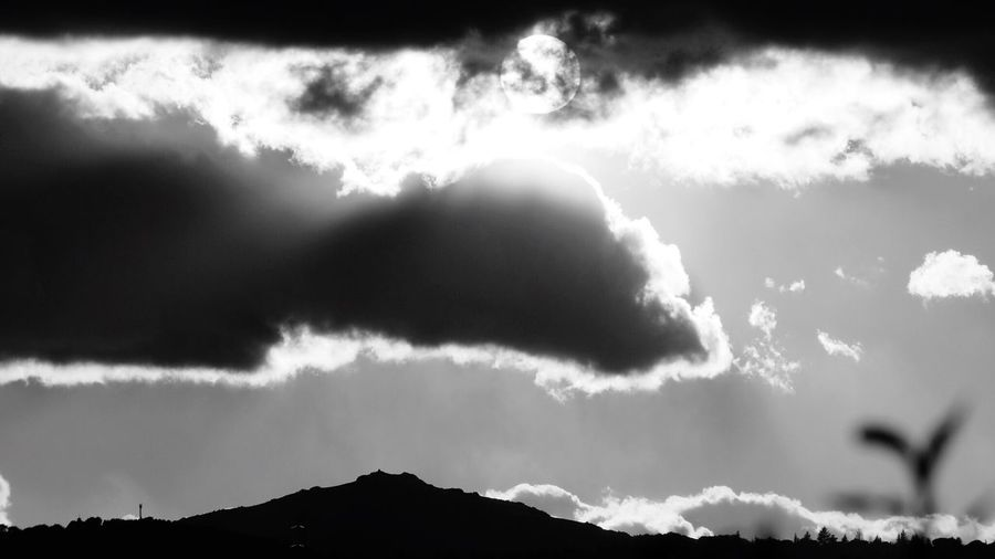 Landscape Nature Photography First Spring Day One Day Bnwphotography Bnw Blackandwhite Sunset Springtime Sun Nature Sky Scenics No People Beauty In Nature Silhouette Cloud - Sky Outdoors Day Mountain Vapor Trail