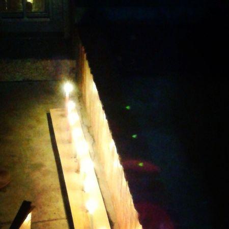 Noche de velitas por todos nuestros deseos para este nuevo año que ya casi llega.... Candlenight , Christmas , Familyties