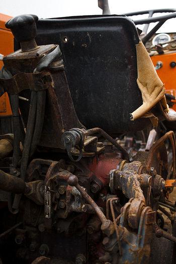 Meca Mecanic Truck Truckfarming Simplelife Rouille Tracteur