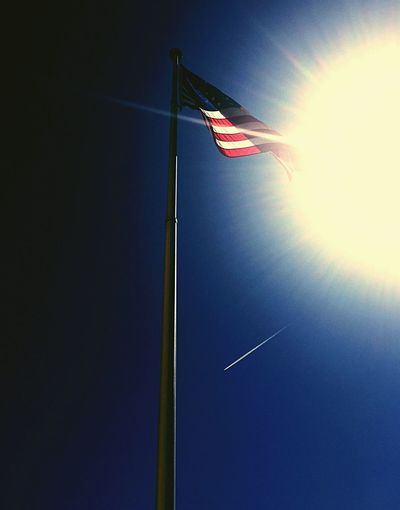 American Flag America American Flag Flags Flag Pole Flags In The Wind  USA Patriotism Patriotic ProudAmerican Blue Flagpole Blue Sky Sun Sunshine Sunlight And Shadow Sunlight Sunlight, Shades And Shadows Sunlight ☀ Usflag Photography In Motion Landscapes With WhiteWall Natures Diversities