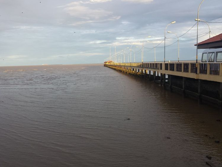 #macapá #macapá #ap #Brazil No People Day Outdoors Sea Water Travel Destinations Landscape Sky Architecture Nature Bird