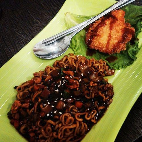 Top_food_of_Instagram Instafood Wtfoodies Jajjangmyeon KoreanFood