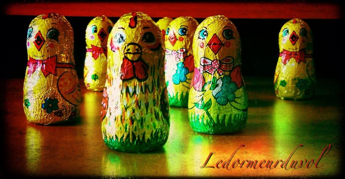 Easter chicks Easter Chocolate First Eyeem Photo LDDV