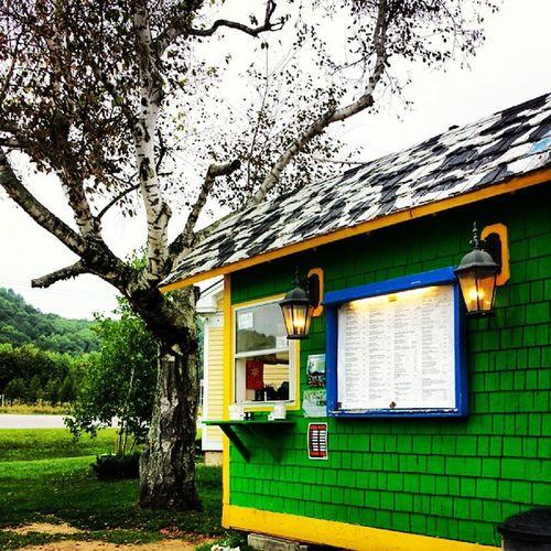 The best food shack around BurgerBarn Jeffersonvillevt Vt Vermontbyvermonters vermonteats localbeef