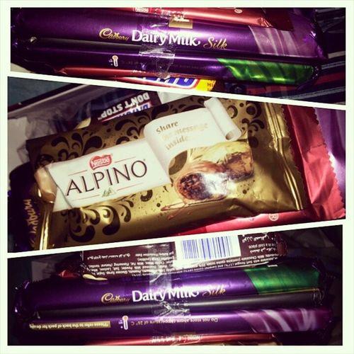 Chocolates Everywhere Iamchocoholic Iamnotgoingtogiveittoanyone Mychocolates Maybeisrealiproduct cadbury snickers andmore